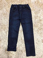Джинсові штани для хлопчиків на флісі F&D 12 років