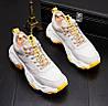 Спортивна взуття, повсякденне взуття на товстій підошві, високі кросівки , дихаюча сітка чоловіче взуття