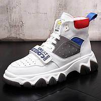 Спортивна повсякденне взуття ,чоловічі черевики, кросівки високі, фото 1