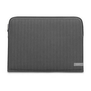 Чехол Moshi для MacBook Air 13.3 2018-2020 Pro 13.3 (2016-2020) Pluma Designer Laptop Sleeve Herringbone Gray
