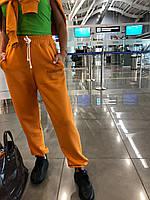 Женские спортивные брюки оверсайз турецкая трехнитка, фото 1