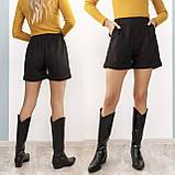 Теплые женские шорты из кашемира 35-367, фото 3