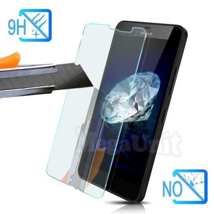 Защитное стекло для экрана Microsoft (Nokia) Lumia 640 XL твердость 9H, 2.5D (tempered glass)