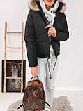 Куртка женская с капюшоном 35-2130, фото 4