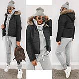 Куртка женская с капюшоном 35-2130, фото 3