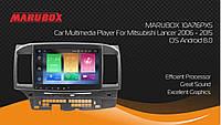 Штатна магнітола Marubox 10A716PX5 Mitsubishi Lancer 2006-2015 4gb/32gb 8-ядерна PX5 Android 8.0, фото 4
