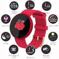Женские умные часы Bozlun B36, смарт браслет с пульсометром калории для Xiaomi, iPhone, Samsung, Huawei красны