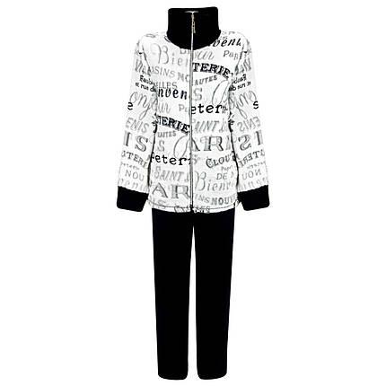Женский тёплый махровый костюм для дома с 44 по 62 размер, фото 2