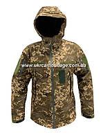 Куртка тактическая Soft Shell пиксель ЗСУ мм 14