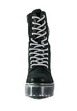Ботинки демисезон женские Lonza D19-7815-3 черные (36), фото 2