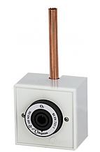 Розекта для газов (для увлажнителя кислорода) Корпусна киснева газова розетка - DIN припаювальна