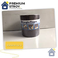 Бутилкаучуковая лента Logic Tape Коричневая 150 мм х 3 м, фото 1