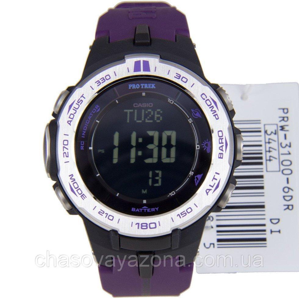 Часы Casio Pro-Trek PRW-3100-6