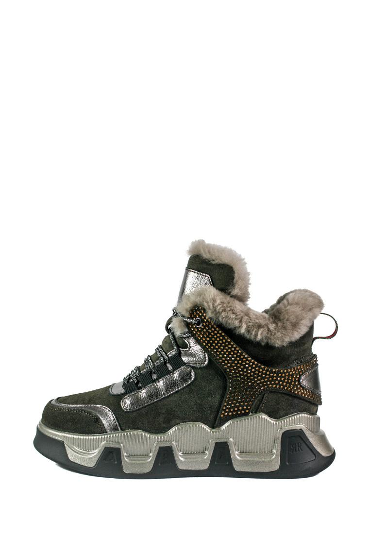 Ботинки зимние женские Allshoes 102-66021 коричневые (39)