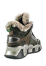 Ботинки зимние женские Allshoes 102-66021 коричневые (39), фото 2