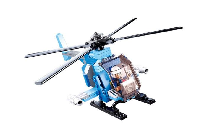Конструктор SLUBAN M38-B0666 (Вертолет гражданский)
