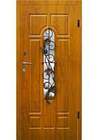 Дверь входная с ковкой №6 модель 105