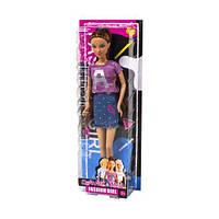 """Кукла """"Defa Lucy"""", в розовой кофте и юбке, DEFA, куклы,игрушки для девочек"""