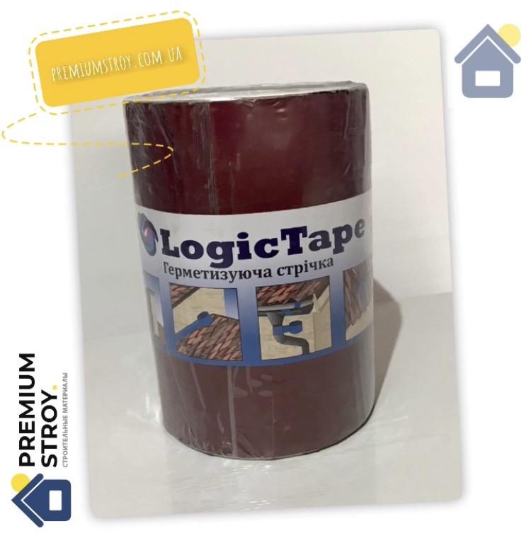 Бутилкаучуковая лента Logic Tape Красная 250 мм х 10 м