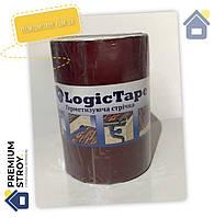 Бутилкаучуковая лента Logic Tape Красная 250 мм х 10 м, фото 1