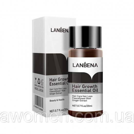 Эссенция для роста волос Lanbena Hair Growth Essential Oil 20 ml