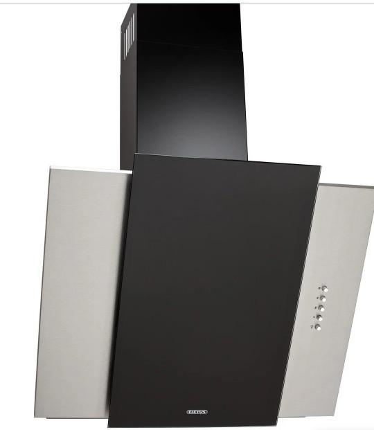 Вытяжка кухонная наклонная Eleyus Vesta A 1200 LED SMD 60 IS+BL