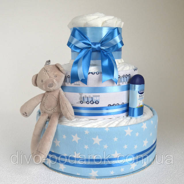 Заказать торт из памперсов в Харькове Киеве Днепре
