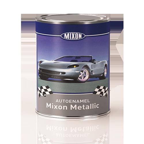 Автомобильная эмаль металлик Mixon Metallic. Черная D01. 1 л