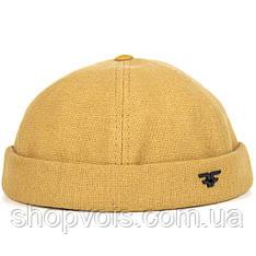 Docker cap D47 Кепка без козырька Желтый