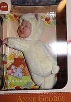 Лялька Анна Геддес (Anne Geddes) Ведмедик медовий 23 см, фото 1