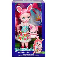 Большая кукла Энчантималс Зайчик Банни Enchantimals Bunny
