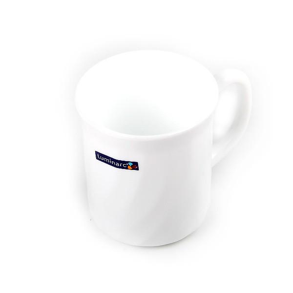 Белая цилиндрическая кружка Luminarc Trianon 290 мл (D6880)