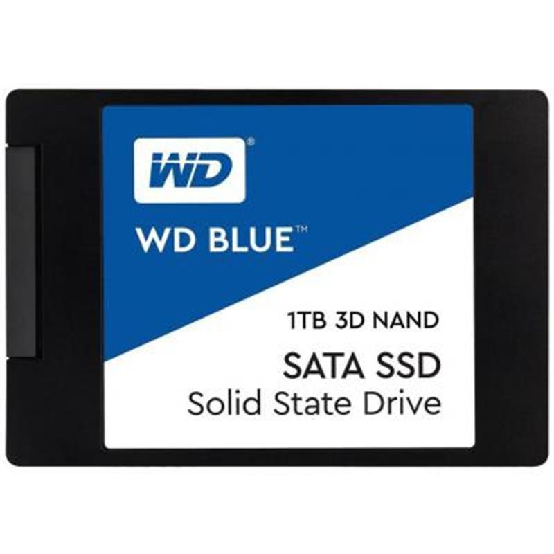 """Накопитель SSD 1TB WD Blue 2.5"""" SATAIII 3D TLC (WDS100T2B0A)"""
