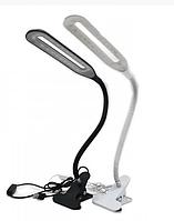 Лампа настільна для манікюру на прищепці LED XSD-206