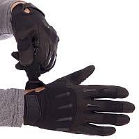 Рукавиці тактичні з закритими пальцями BLACKHAWK чорні BC-4925-BK L