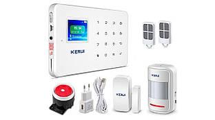 Комплект GSM сигнализации Kerui G18 для 2-комнатной квартиры (R0229)