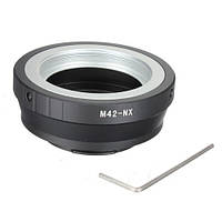 Адаптер переходник M42 - Samsung NX, кольцо Ulata, фото 1