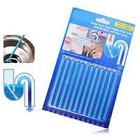 Палочки для устранения засоров в трубах Sani Sticks 12 шт (R0179)