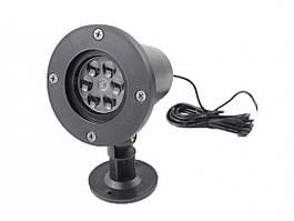 Уличный лазерный проектор Outdoor Lawn Snowflake Light (133181)