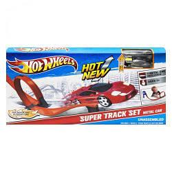 """Трек игровой детский с машинкой""""Hot Wheels: Super Loop"""" 8819"""