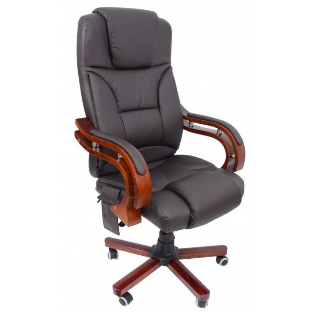 Крісло Bonro Premier M-8005 коричневе