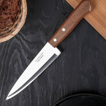Ніж кухарський з дерев'яною ручкою Tramontina Universal 125 мм (22902/005), фото 2