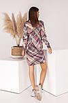 Женское платье, турецкий трикотаж, р-р универсальный 42-46 (розовый), фото 5