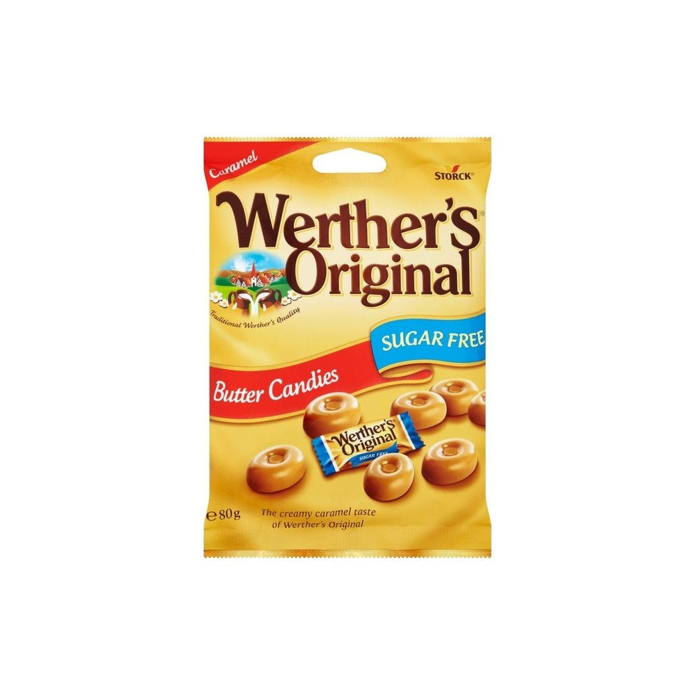 Карамельные конфеты Werthers Originals Butter Candies Sugar Free 80 g
