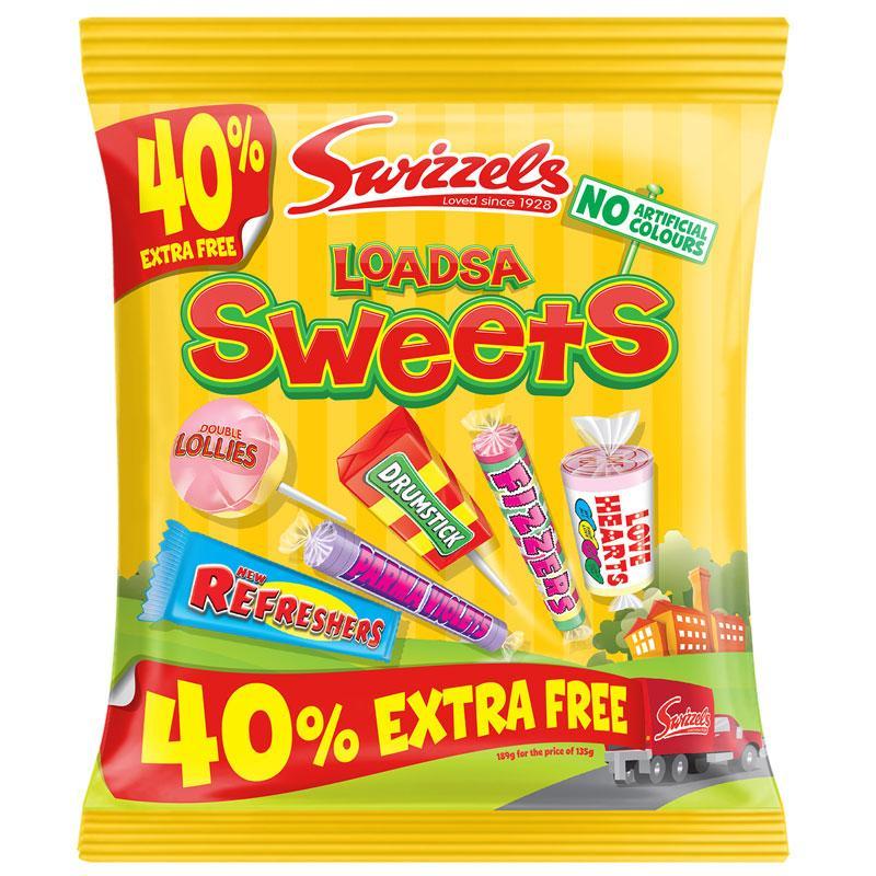 Микс конфет Swizzels Sweets 18s 189 g