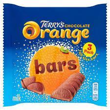 Шоколад Terry's Milk Chocolate Orange  Bars 3s 105 g
