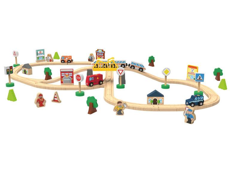 Дерев'яна залізниця Playtive City 67 ел. Німеччина