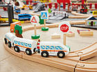 Дерев'яна залізниця Playtive City 67 ел. Німеччина, фото 2