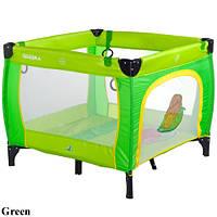 Детский манеж Caretero Quadra Green