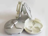 Колпачки для оригинальных дисков Mitsubishi(серые)